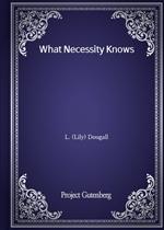 도서 이미지 - What Necessity Knows