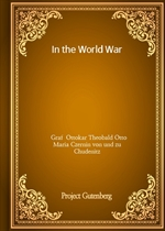 도서 이미지 - In the World War