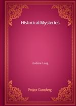 도서 이미지 - Historical Mysteries