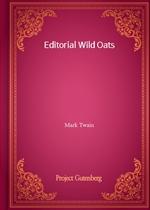도서 이미지 - Editorial Wild Oats
