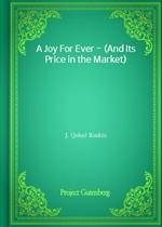 도서 이미지 - A Joy For Ever - (And Its Price in the Market)