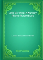 도서 이미지 - Little Bo-Peep: A Nursery Rhyme Picture Book