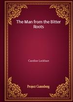 도서 이미지 - The Man from the Bitter Roots