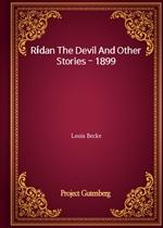 도서 이미지 - Rídan The Devil And Other Stories - 1899