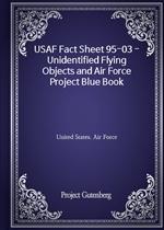 도서 이미지 - USAF Fact Sheet 95-03 - Unidentified Flying Objects and Air Force Project Blue Book