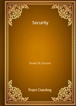 도서 이미지 - Security (Ernest M. Kenyon 저)