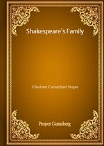 도서 이미지 - Shakespeare's Family