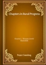 도서 이미지 - Chapters in Rural Progress