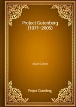 도서 이미지 - Project Gutenberg (1971-2005)