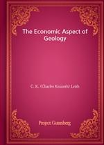 도서 이미지 - The Economic Aspect of Geology
