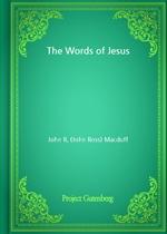 도서 이미지 - The Words of Jesus