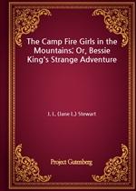 도서 이미지 - The Camp Fire Girls in the Mountains; Or, Bessie King's Strange Adventure