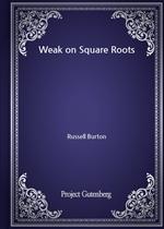 도서 이미지 - Weak on Square Roots