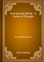 도서 이미지 - God and the World - A Survey of Thought