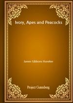 도서 이미지 - Ivory, Apes and Peacocks