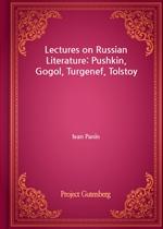 도서 이미지 - Lectures on Russian Literature: Pushkin, Gogol, Turgenef, Tolstoy