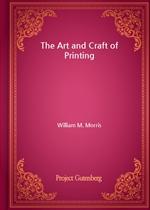 도서 이미지 - The Art and Craft of Printing