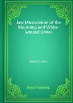 도서 이미지 - Jaw Musculature of the Mourning and White-winged Doves