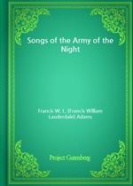 도서 이미지 - Songs of the Army of the Night