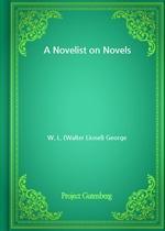 도서 이미지 - A Novelist on Novels
