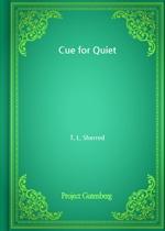 도서 이미지 - Cue for Quiet