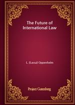 도서 이미지 - The Future of International Law