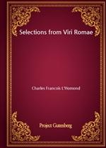 도서 이미지 - Selections from Viri Romae