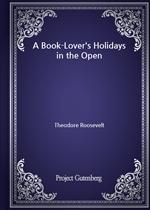 도서 이미지 - A Book-Lover's Holidays in the Open