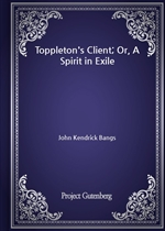 도서 이미지 - Toppleton's Client; Or, A Spirit in Exile