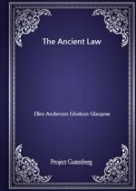 도서 이미지 - The Ancient Law
