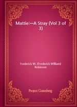 도서 이미지 - Mattie:-A Stray (Vol 3 of 3)