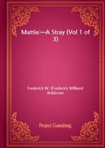 도서 이미지 - Mattie:-A Stray (Vol 1 of 3)