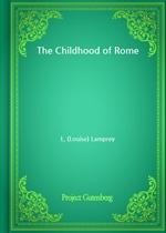 도서 이미지 - The Childhood of Rome