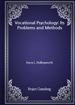 도서 이미지 - Vocational Psychology: Its Problems and Methods