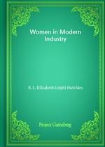 도서 이미지 - Women in Modern Industry