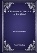 도서 이미지 - Adventures on the Roof of the World
