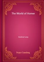 도서 이미지 - The World of Homer