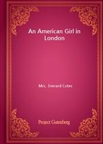 도서 이미지 - An American Girl in London
