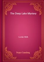 도서 이미지 - The Deep Lake Mystery