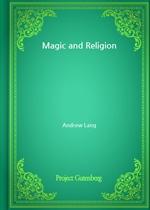 도서 이미지 - Magic and Religion