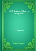 도서 이미지 - A History of Police in England