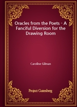 도서 이미지 - Oracles from the Poets - A Fanciful Diversion for the Drawing Room