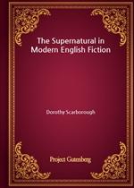 도서 이미지 - The Supernatural in Modern English Fiction