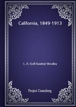 도서 이미지 - California, 1849-1913