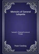 도서 이미지 - Memoirs of General Lafayette