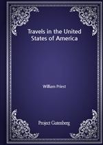 도서 이미지 - Travels in the United States of America