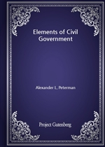도서 이미지 - Elements of Civil Government
