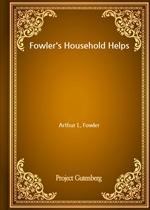 도서 이미지 - Fowler's Household Helps