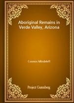 도서 이미지 - Aboriginal Remains in Verde Valley, Arizona