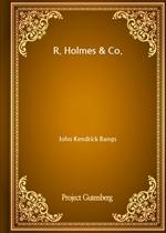 도서 이미지 - R. Holmes & Co.